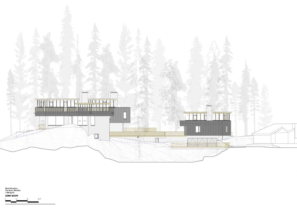 Elevations - The Rock Luxury Estate Residence - Hillcrest Lane, Whistler, BC, Canada