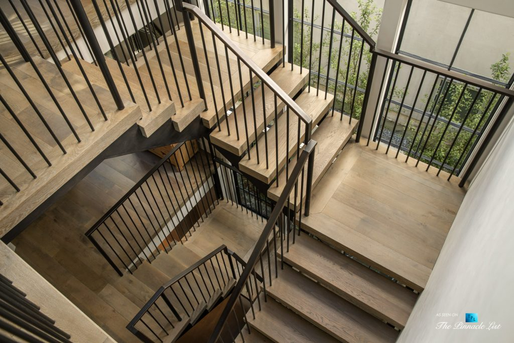 a220 8th St, Manhattan Beach, CA, USA - Luxury Real Estate - Ocean View Dream Home - Stairs