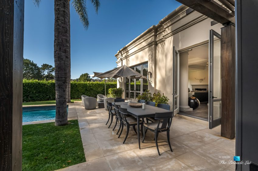 2720 Ellison Dr, Beverly Hills, CA, USA - Backyard Pool Deck - Luxury Real Estate - Italian Villa Hilltop Home