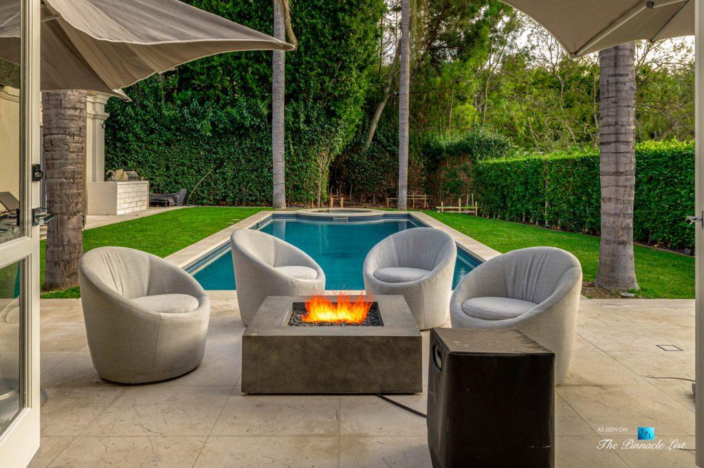 2720 Ellison Dr, Beverly Hills, CA, USA - Spectacular Backyard Pool Lounge - Luxury Real Estate - Italian Villa Hilltop Home
