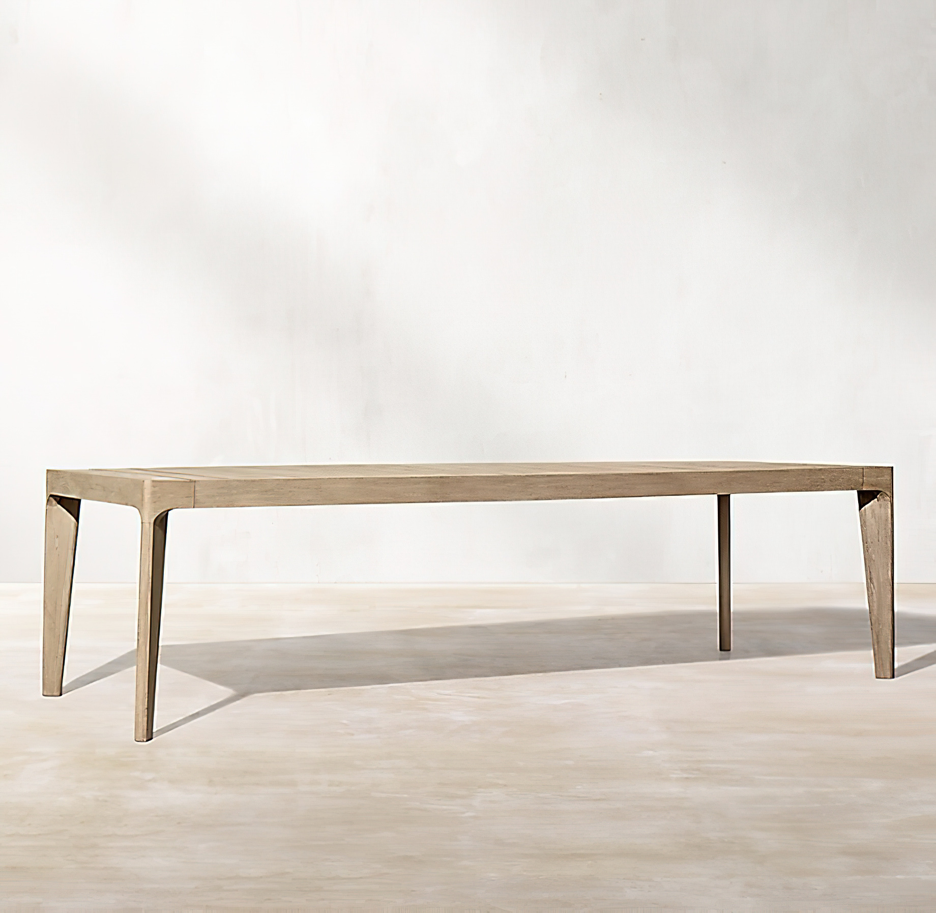 Malta Teak Collection Outdoor Furniture Design for RH - Ramon Esteve - Malta Teak Dining Table