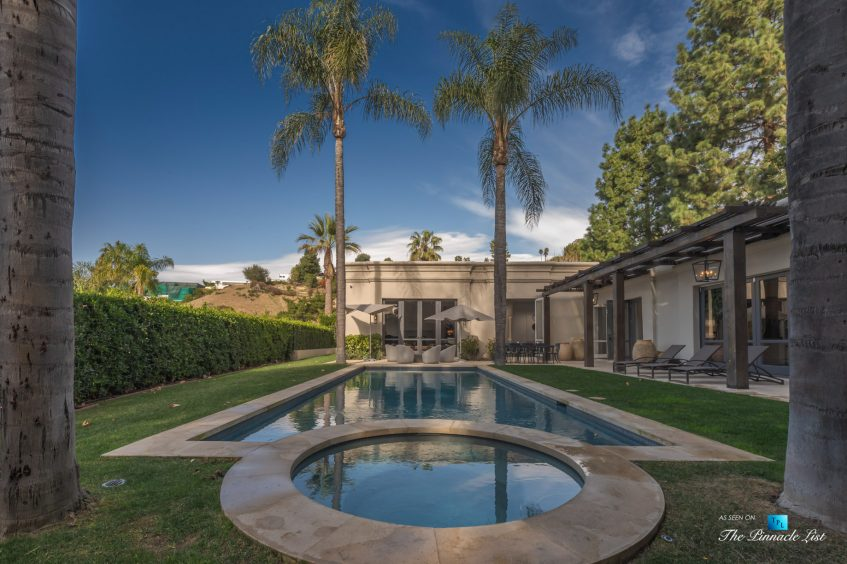 2720 Ellison Dr, Beverly Hills, CA, USA - Spectacular Backyard Pool - Luxury Real Estate - Italian Villa Hilltop Home