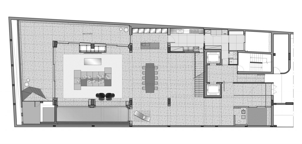 Floor Plans - Panorama Swimming Pool House - Vila Nova Conceicao, Sao Paulo, Brazil
