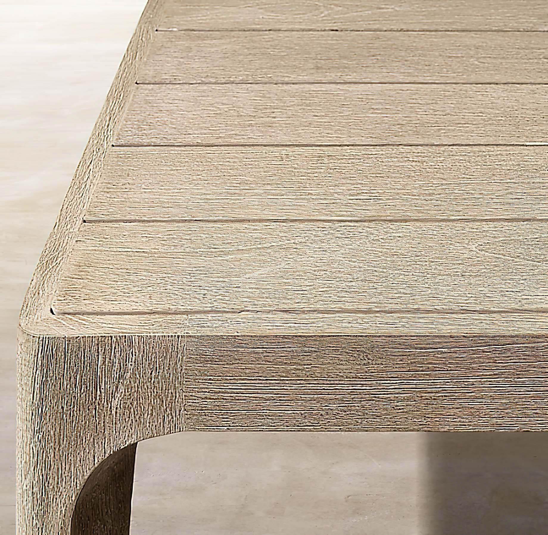 Malta Teak Collection Outdoor Furniture Design for RH – Ramon Esteve – Malta Teak Side Table