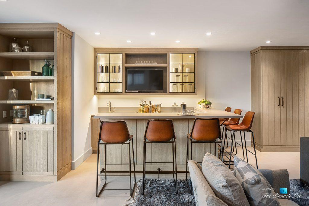 220 8th St, Manhattan Beach, CA, USA - Luxury Real Estate - Ocean View Dream Home - Entertainment Room and Bar