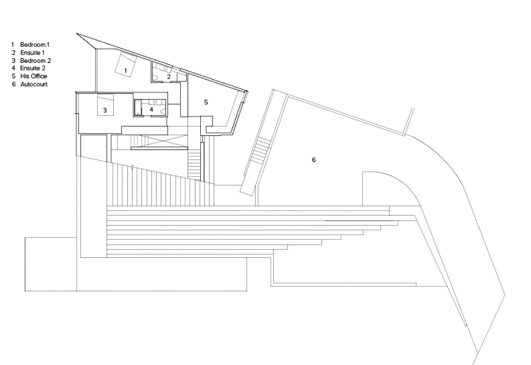 Floor Plans – Sunset House Modern Organic Minimalism – West Vancouver, BC, Canada