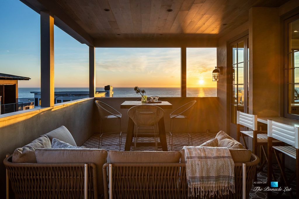 220 8th St, Manhattan Beach, CA, USA - Luxury Real Estate - Ocean View Dream Home - Top Floor Deck Sunset
