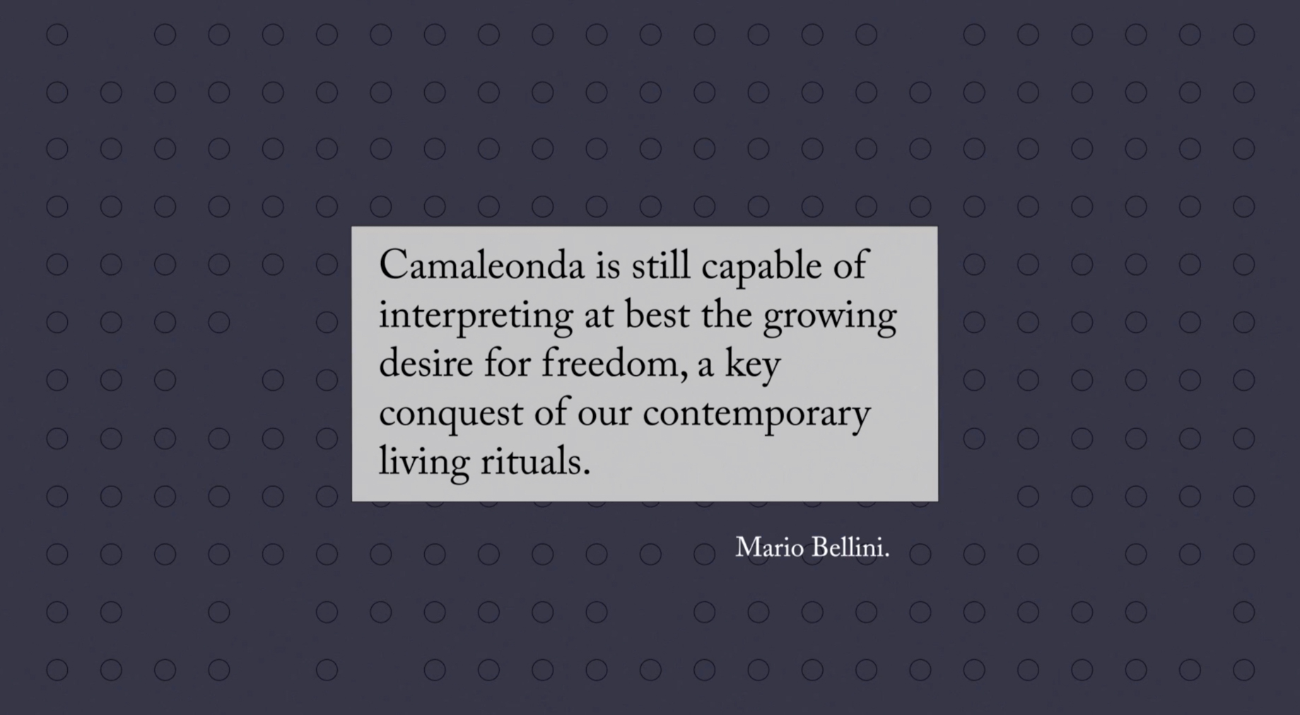 Camaleonda Classic Sofa Collection B&B Italia – Mario Bellini – Quote