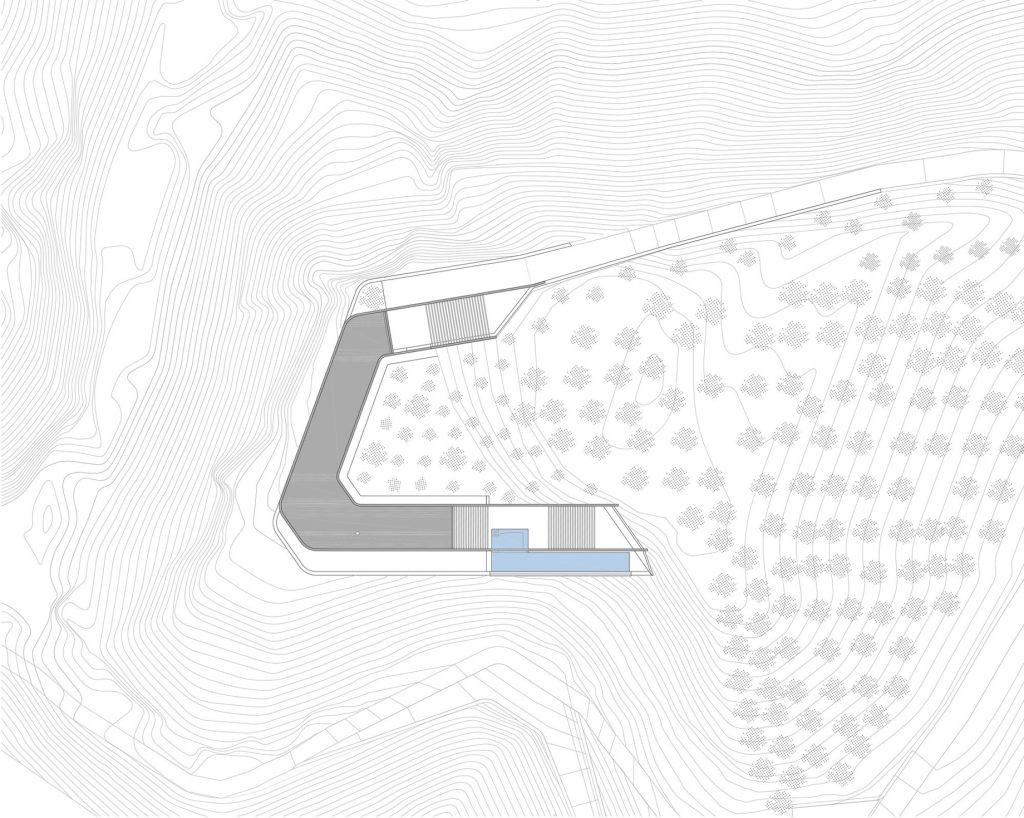 Floor Plans - Ring House Modern Contemporary Residence - Agia Galini, Crete, Greece
