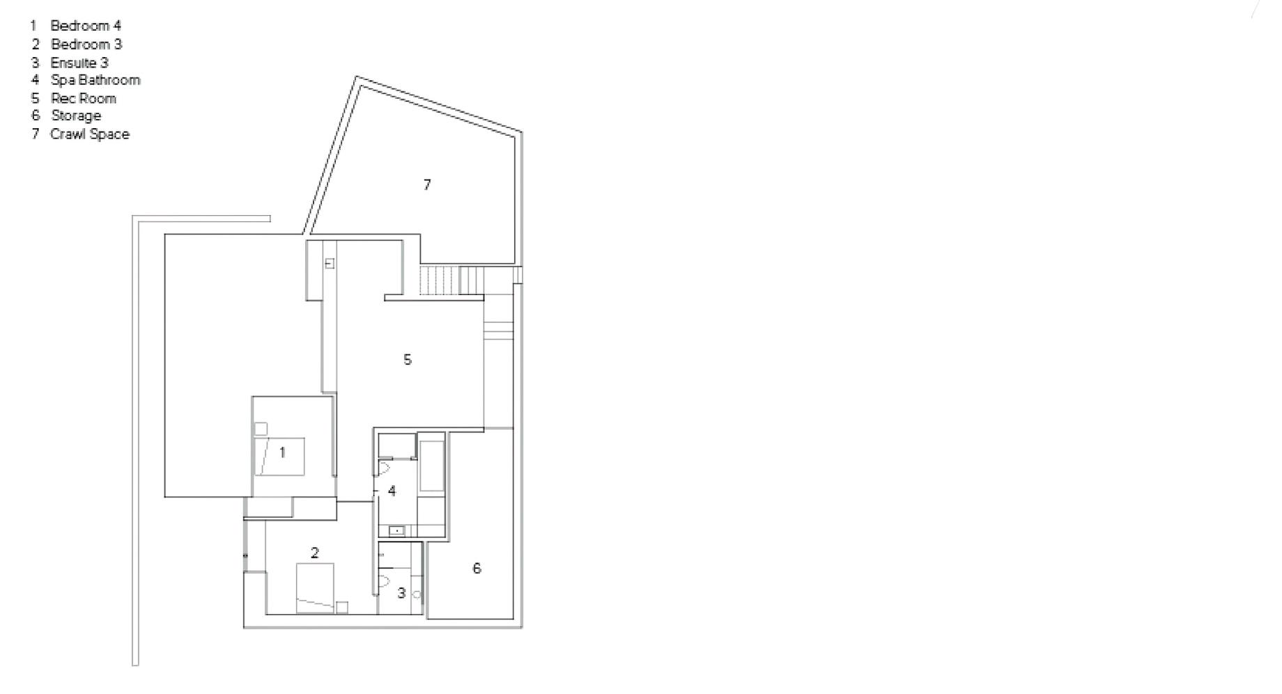 Floor Plans - Sunset House Modern Organic Minimalism - West Vancouver, BC, Canada