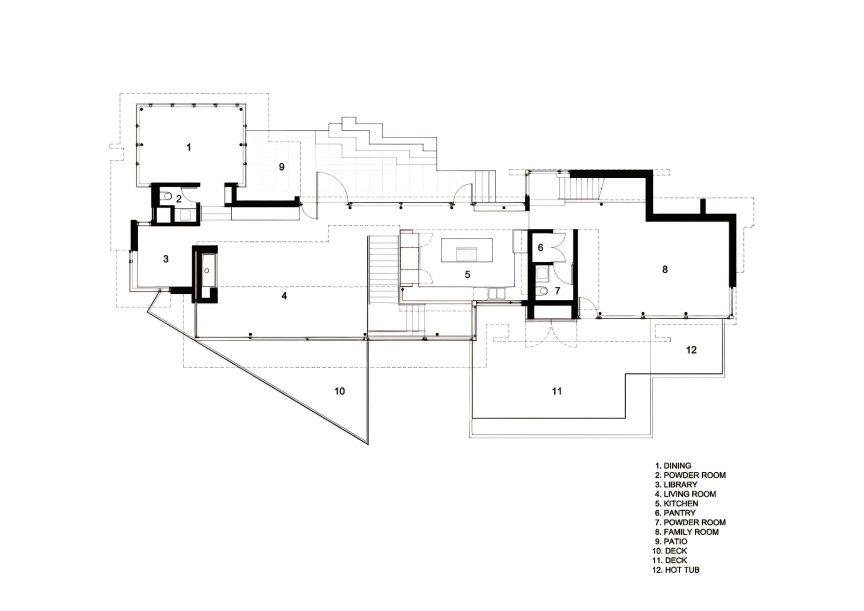 Floor Plans - West Coast Modern - 4249 Rockbank Place, West Vancouver, BC, Canada