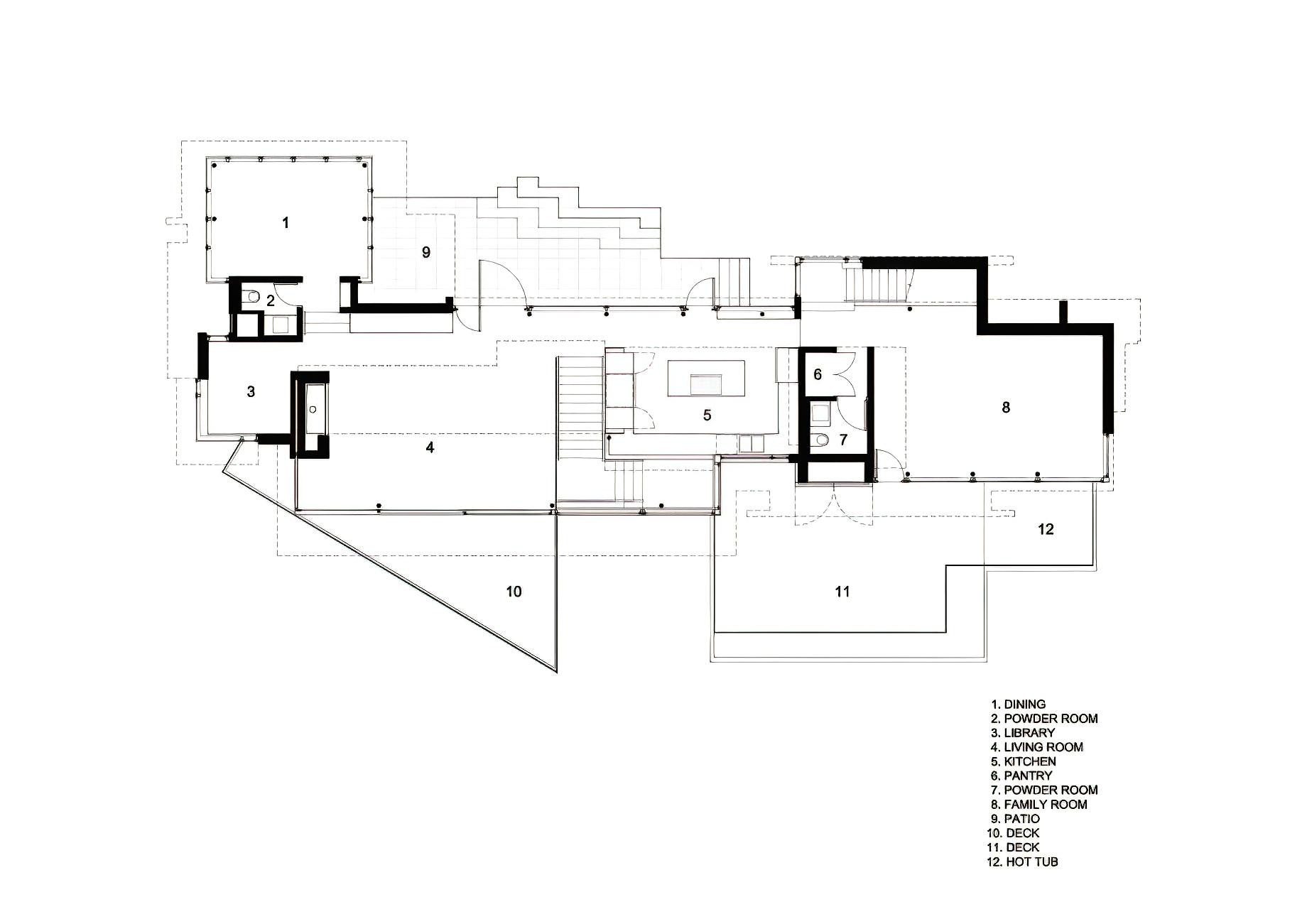 Floor Plans – West Coast Modern – 4249 Rockbank Place, West Vancouver, BC, Canada