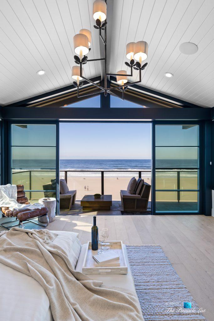 508 The Strand, Manhattan Beach, CA, USA - Master Bedroom Stunning Beach View - Luxury Real Estate - Oceanfront Home