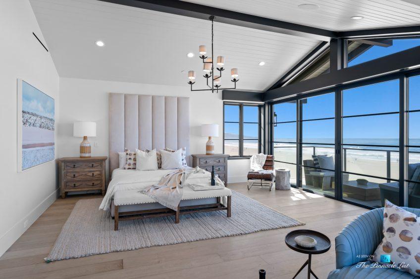 508 The Strand, Manhattan Beach, CA, USA - Master Bedroom Windows Beach View - Luxury Real Estate - Oceanfront Home