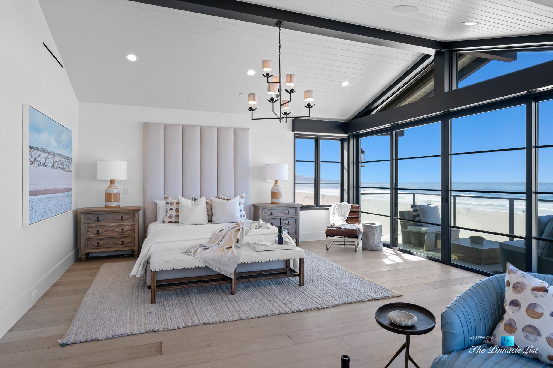 508 The Strand, Manhattan Beach, CA, USA – Master Bedroom Windows Beach View – Luxury Real Estate – Oceanfront Home