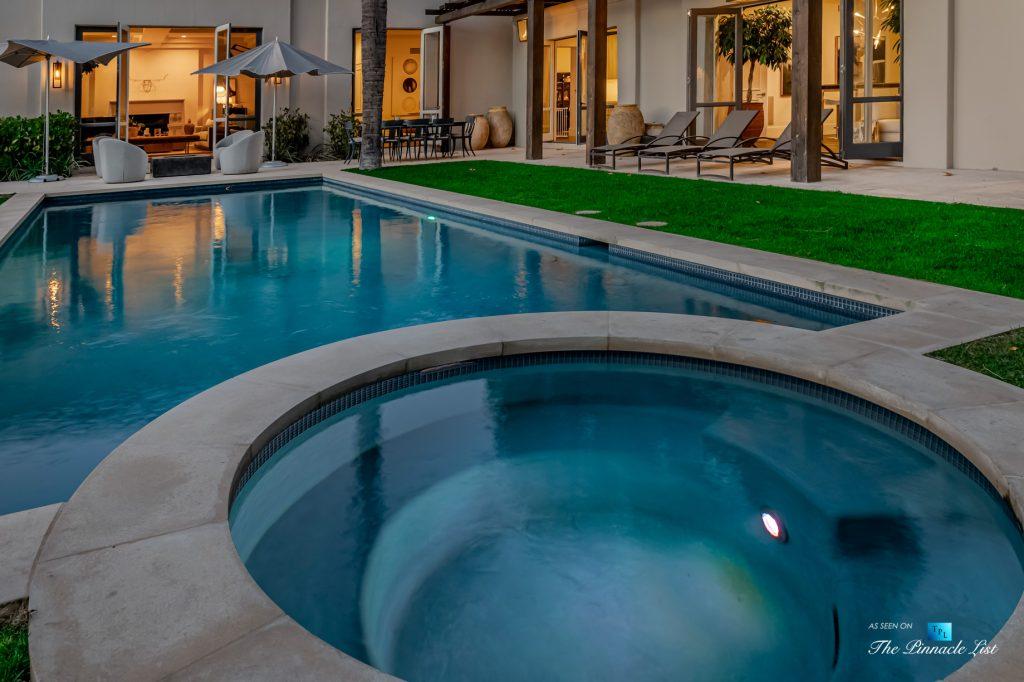 2720 Ellison Dr, Beverly Hills, CA, USA - Exterior Hot Tub - Luxury Real Estate - Italian Villa Hilltop Home