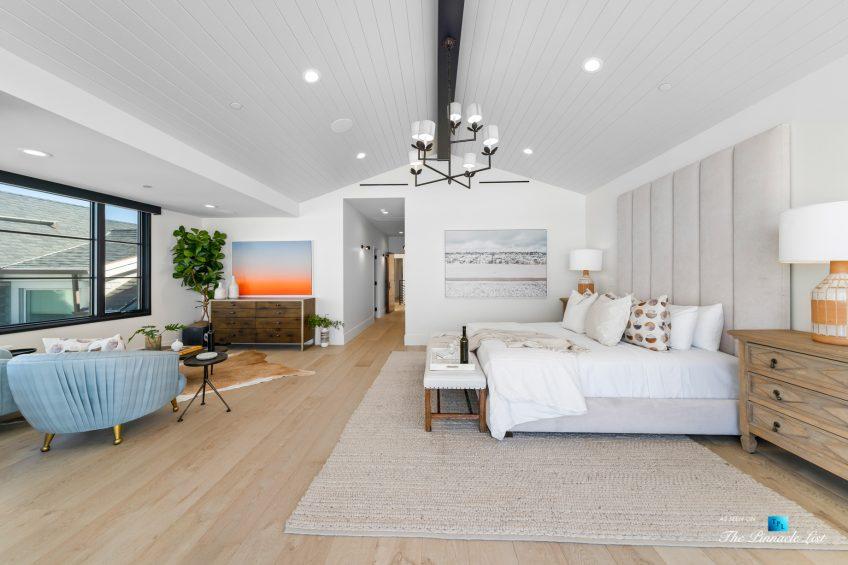 508 The Strand, Manhattan Beach, CA, USA - Master Bedroom Interior - Luxury Real Estate - Oceanfront Home