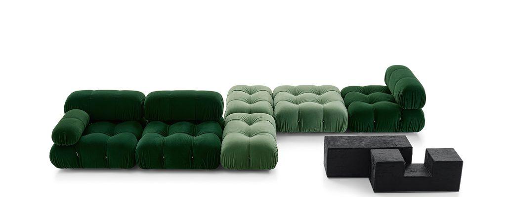 Camaleonda Classic Sofa Collection B&B Italia - Mario Bellini - Green