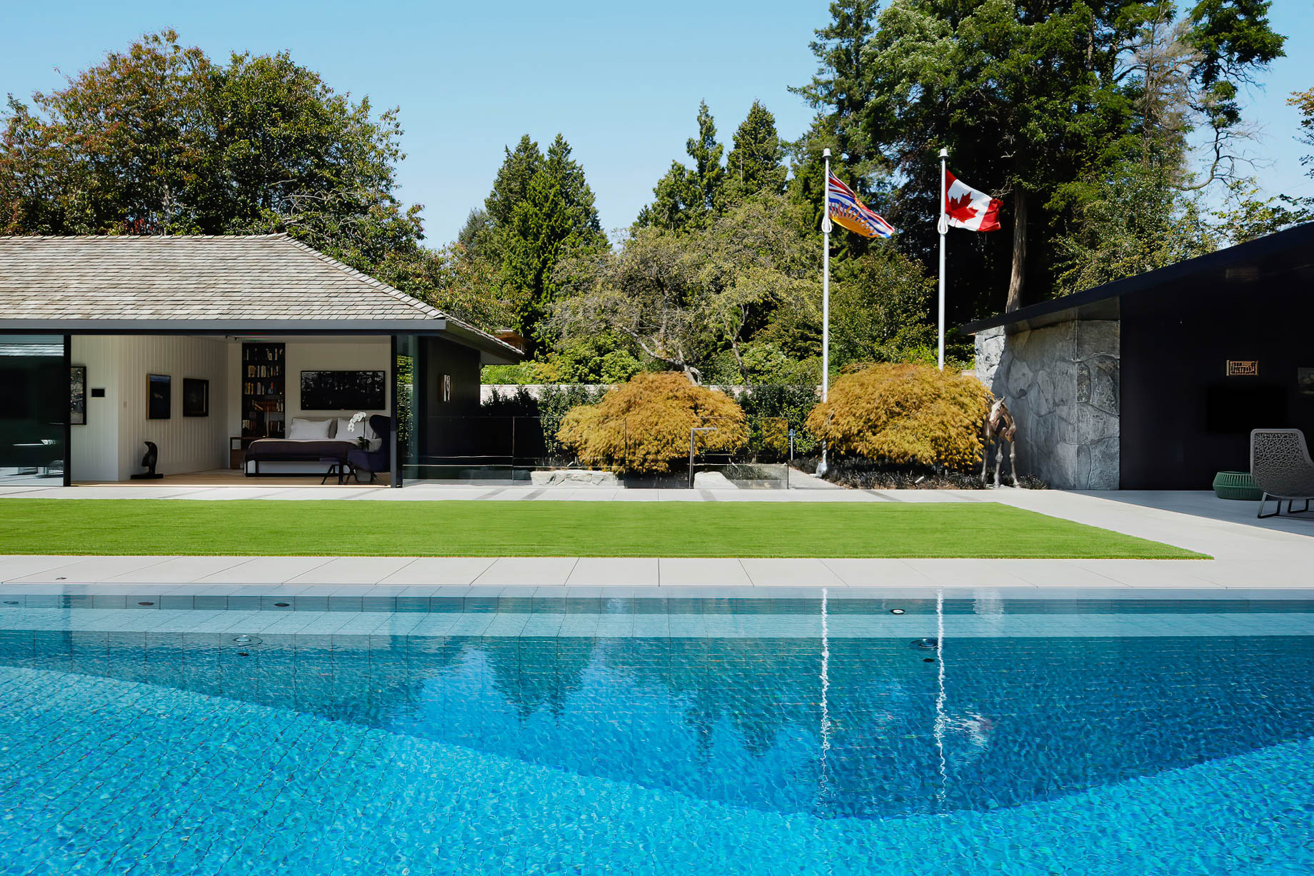 Sculpture Garden Gallery House Estate – Vancouver, BC, Canada