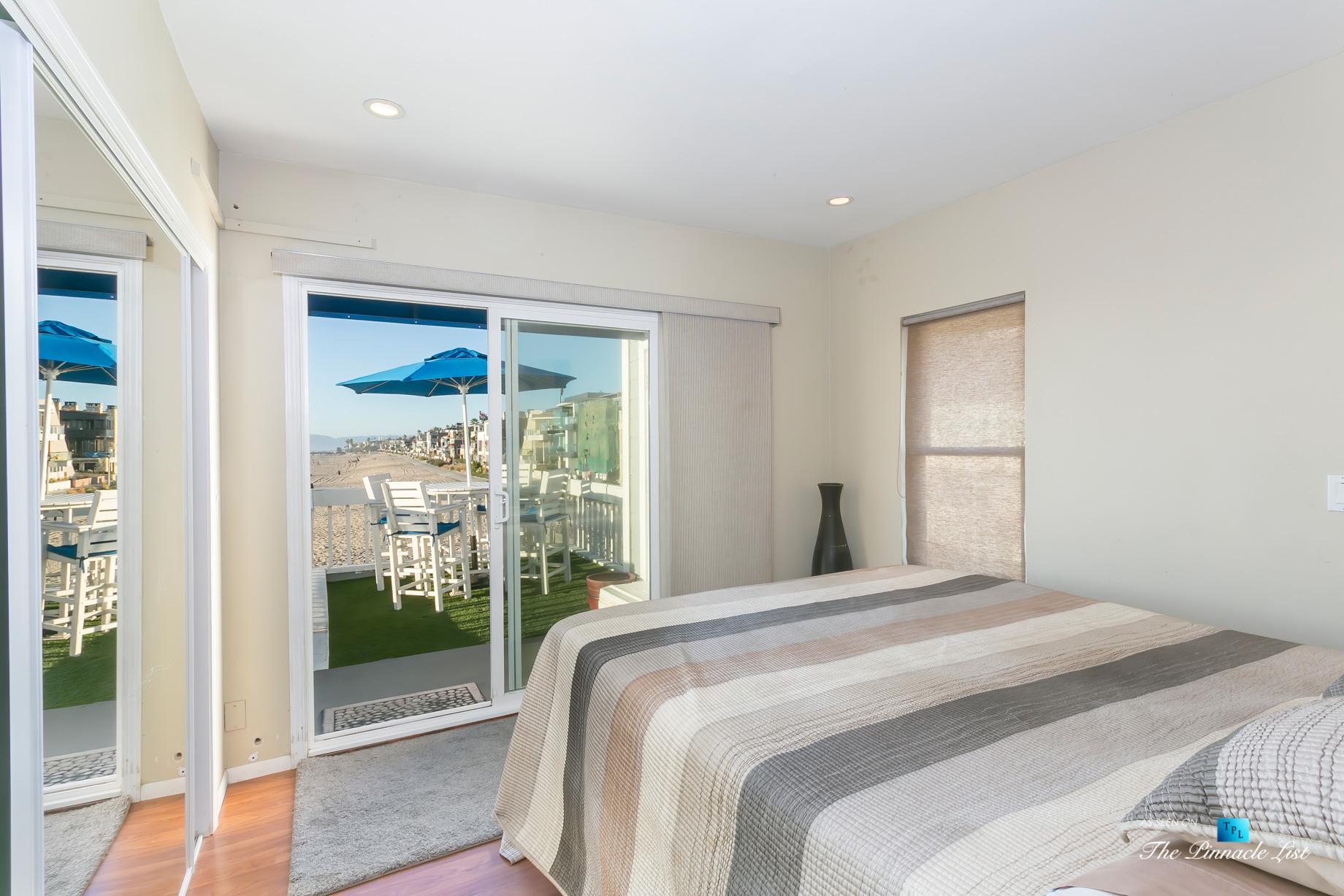 3500 The Strand, Hermosa Beach, CA, USA - Beachfront Bedroom – Luxury Real Estate – Original 90210 Beach House - Oceanfront Home