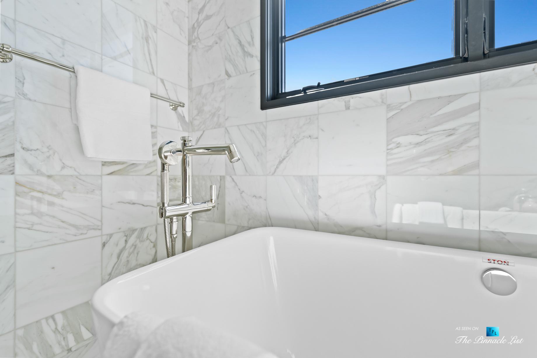508 The Strand, Manhattan Beach, CA, USA – Master Bathroom Marble Interior – Luxury Real Estate – Oceanfront Home