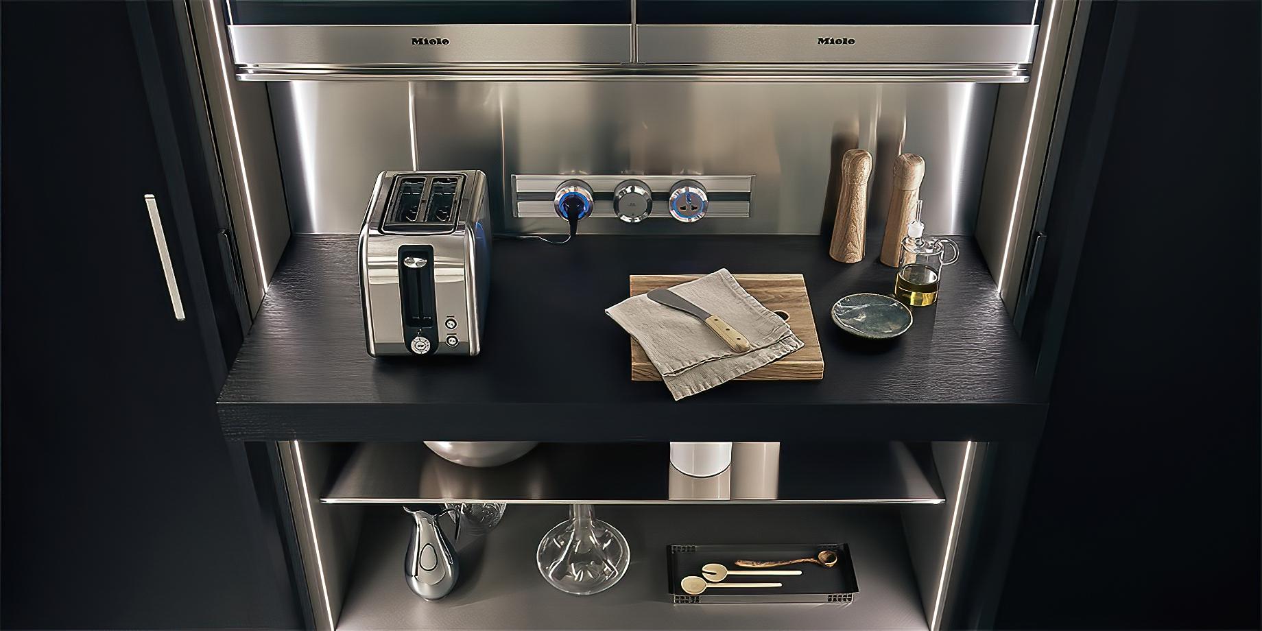 K-lab Contemporary Kitchen Ernestomeda Italy – Giuseppe Bavuso – Indoor Cupboard