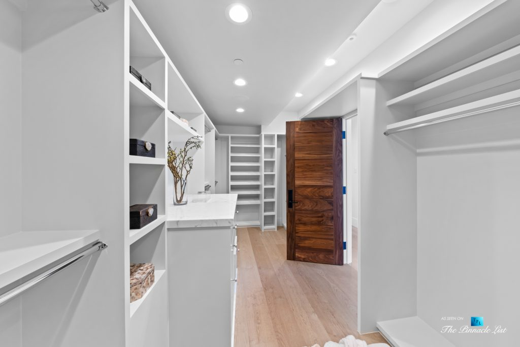 508 The Strand, Manhattan Beach, CA, USA - Master Bedroom Walk In Closet - Luxury Real Estate - Oceanfront Home