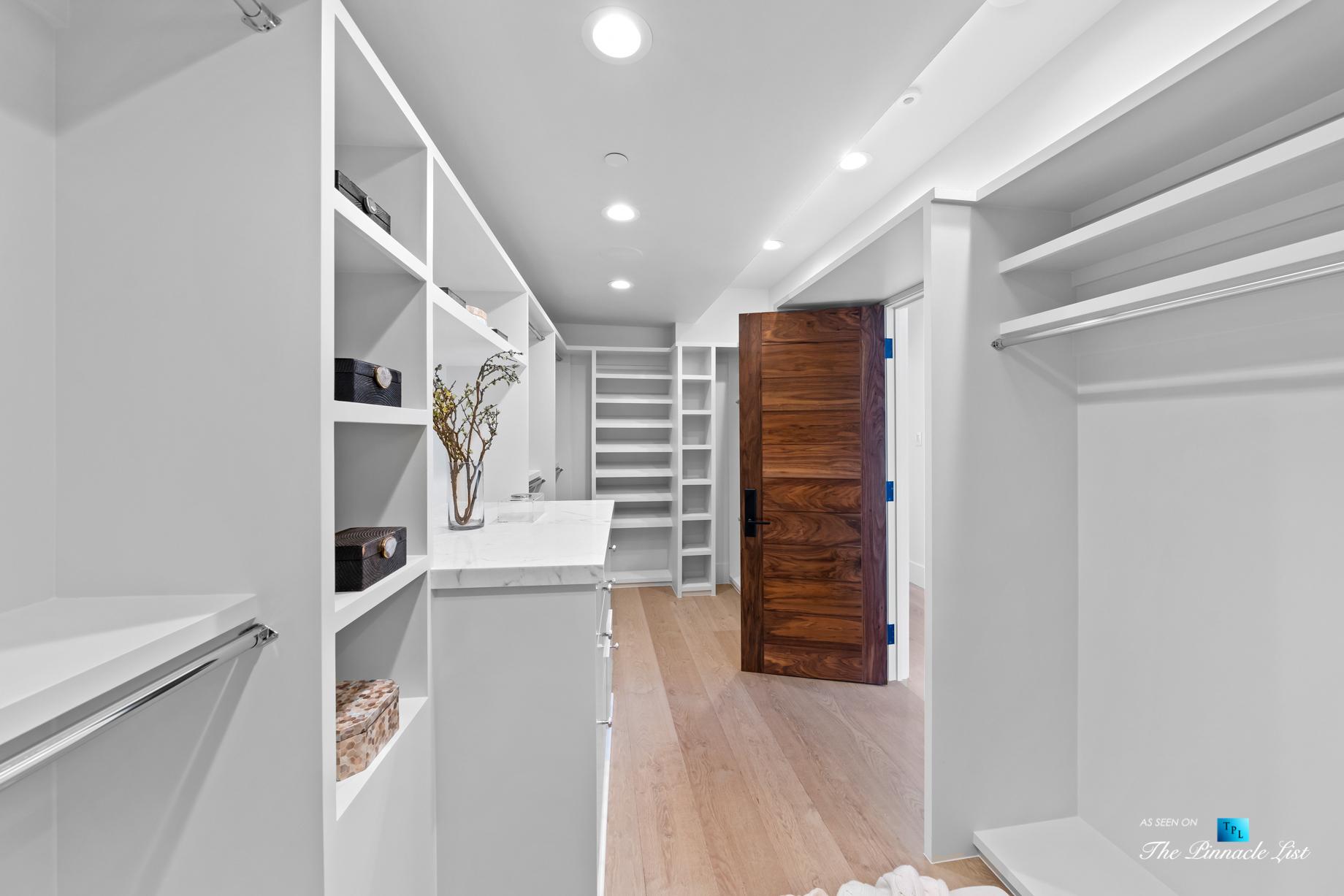 508 The Strand, Manhattan Beach, CA, USA – Master Bedroom Walk In Closet – Luxury Real Estate – Oceanfront Home
