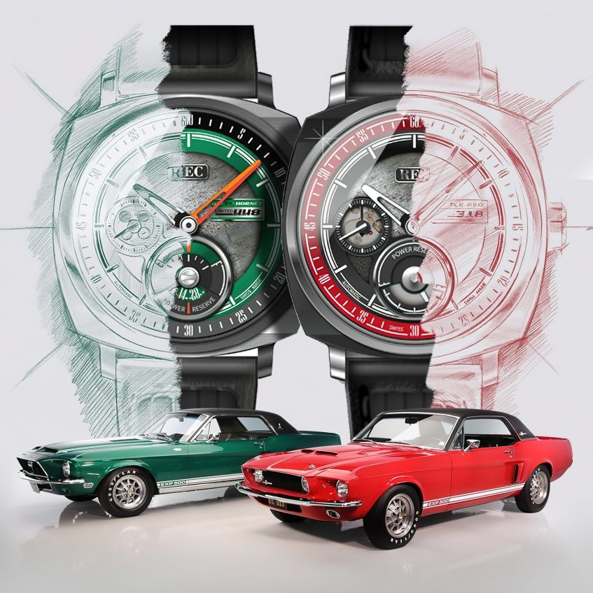 P-51 Green Hornet & Little Red Limited Collection - REC Watches