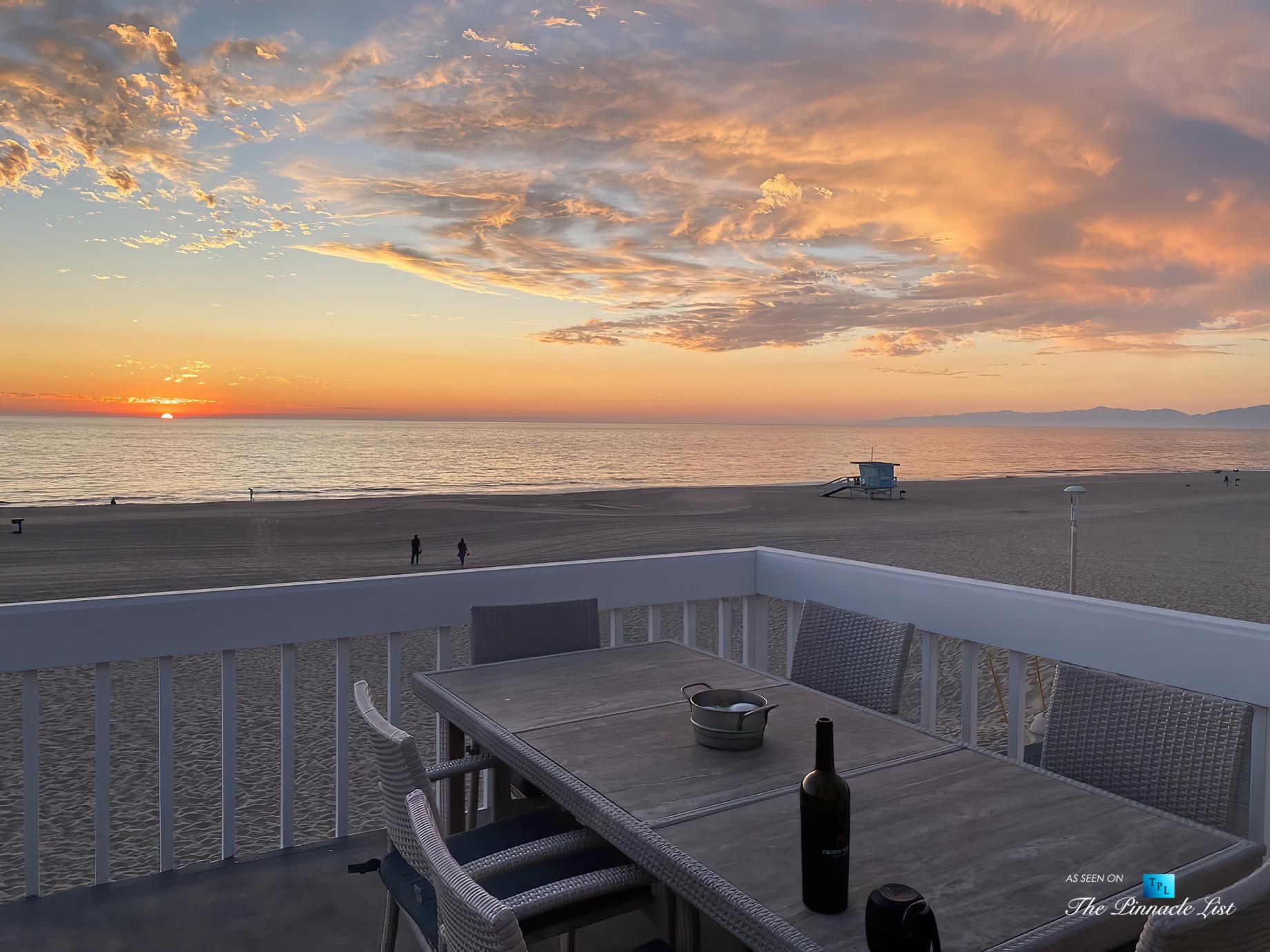 3500 The Strand, Hermosa Beach, CA, USA – Sunset Deck Beach View – Luxury Real Estate – Original 90210 Beach House