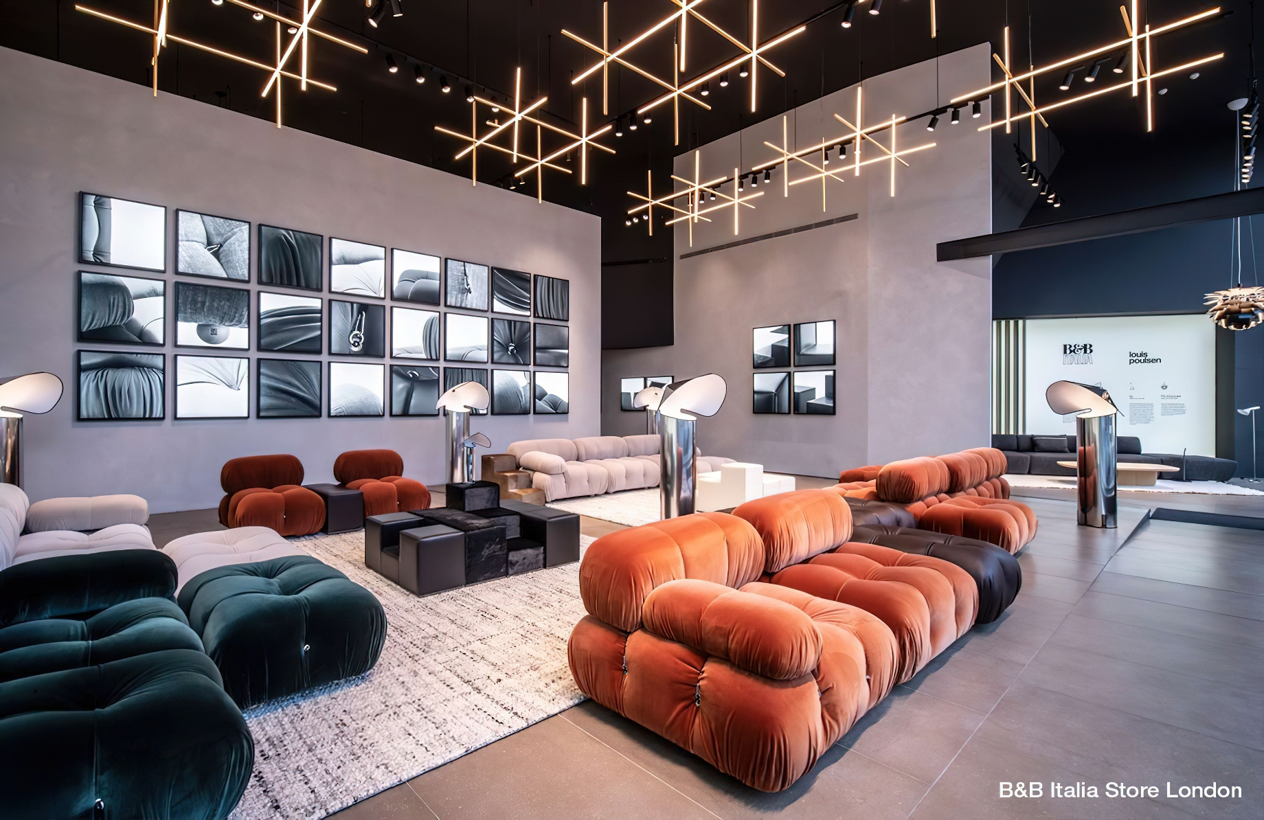 Camaleonda Classic Sofa Collection B&B Italia – Mario Bellini – B&B Italia Store London