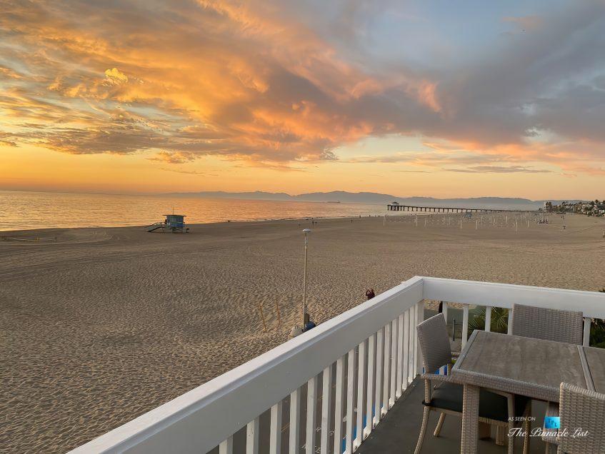 3500 The Strand, Hermosa Beach, CA, USA - Sunset Deck Beach View - Luxury Real Estate – Original 90210 Beach House