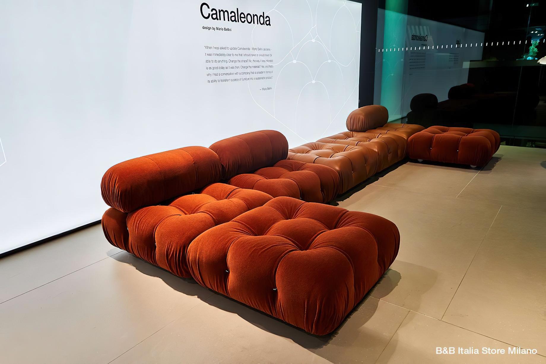 Camaleonda Classic Sofa Collection B&B Italia – Mario Bellini – B&B Italia Store Milano