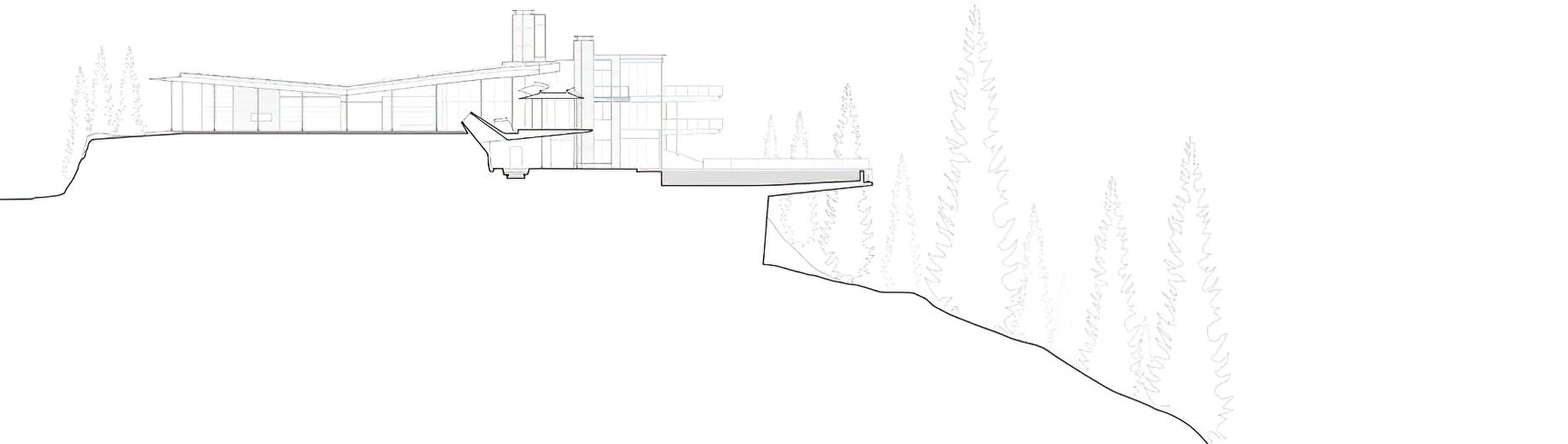 Section - Amanderu Estate Luxury Ski Chalet - Stonebridge Dr, Whistler, BC, Canada