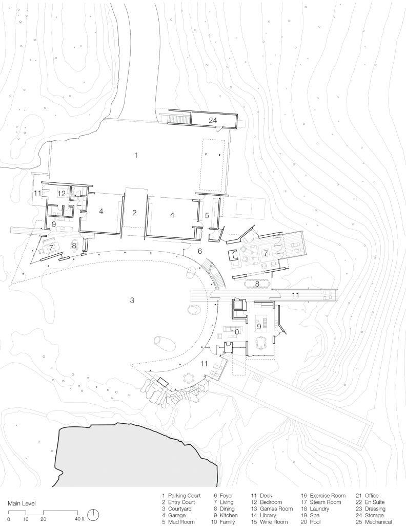 Floor Plans - Amanderu Estate Luxury Ski Chalet - Stonebridge Dr, Whistler, BC, Canada