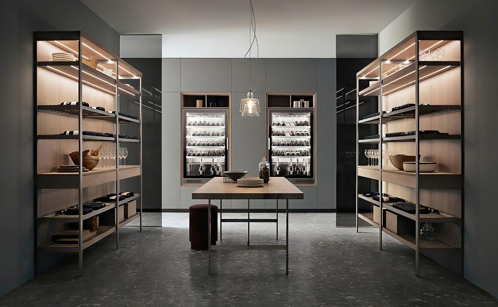 K-lab Contemporary Kitchen Ernestomeda Italy - Giuseppe Bavuso - Kitchen Wine Gallery