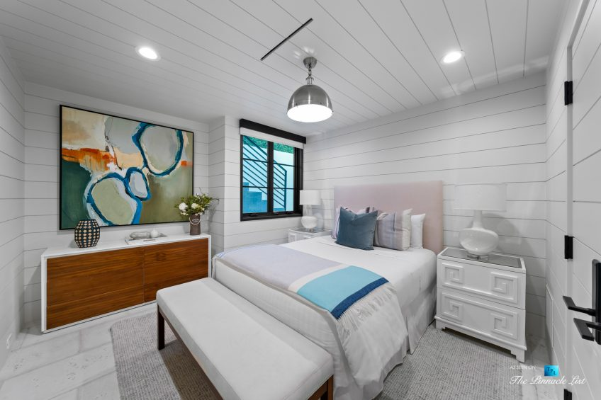 508 The Strand, Manhattan Beach, CA, USA - Lower Level Bedroom - Luxury Real Estate - Oceanfront Home