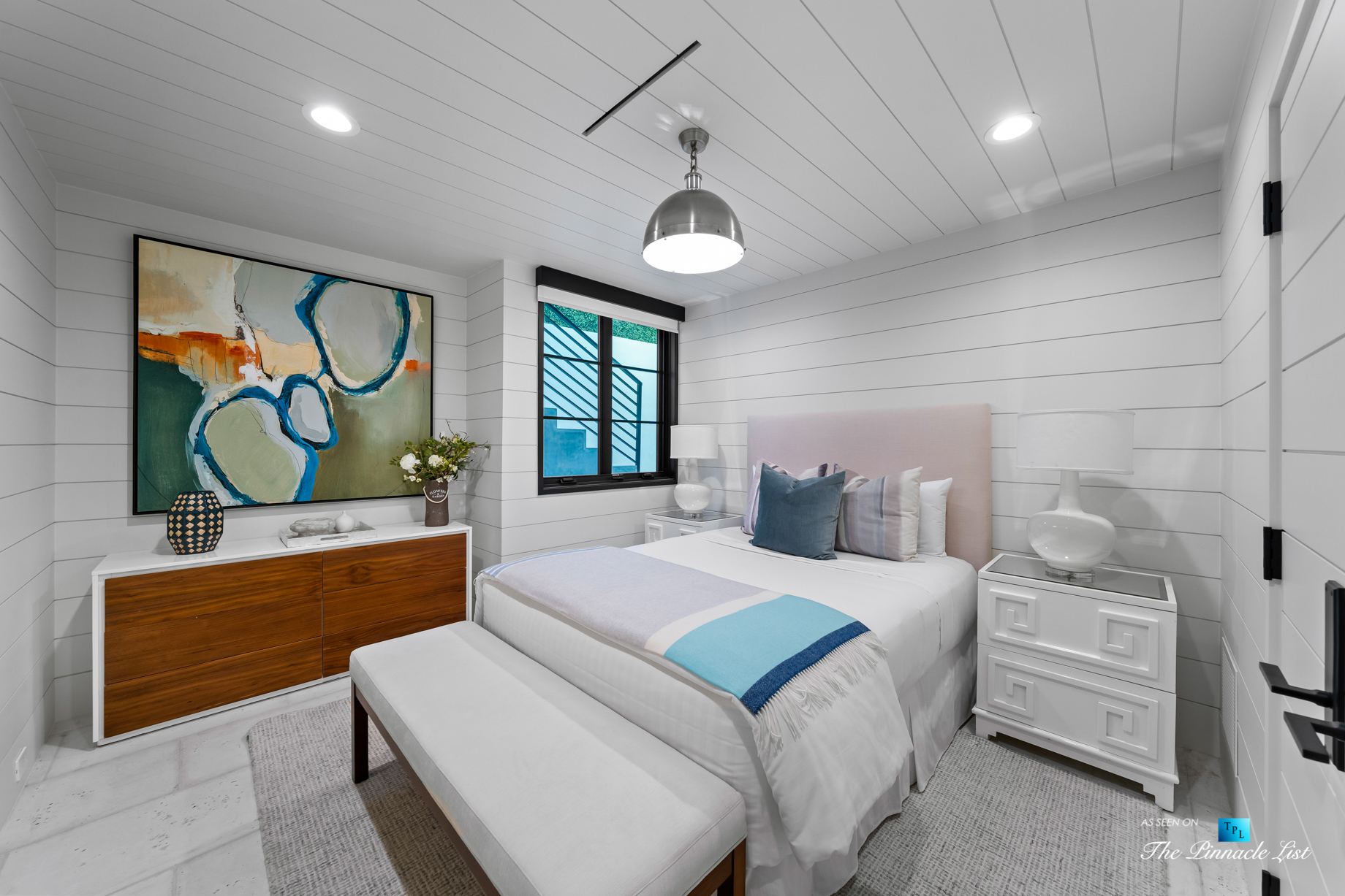508 The Strand, Manhattan Beach, CA, USA – Lower Level Bedroom – Luxury Real Estate – Oceanfront Home