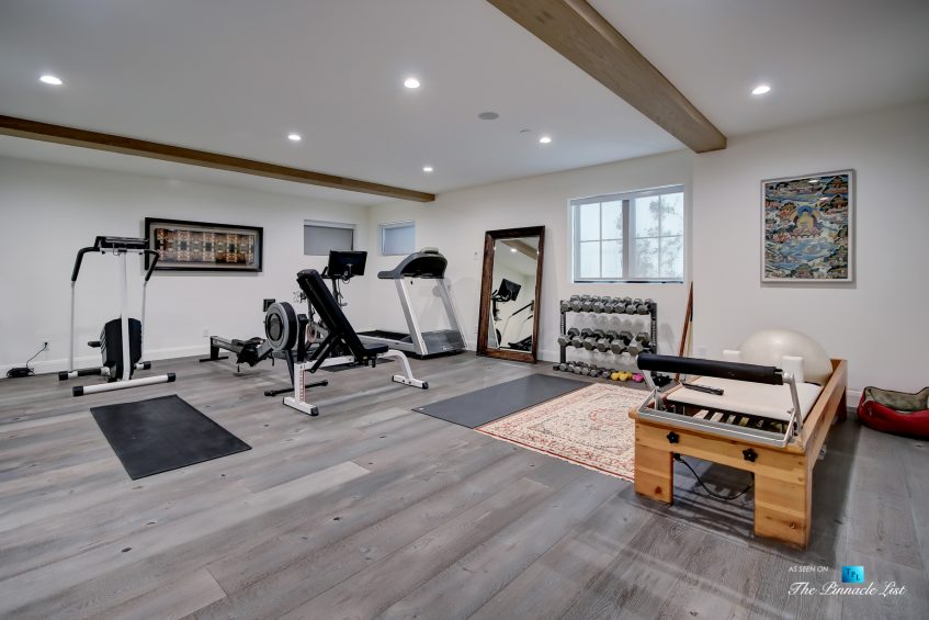825 Highview Ave, Manhattan Beach, CA, USA - Private Gym - Luxury Real Estate - Modern Spanish Home