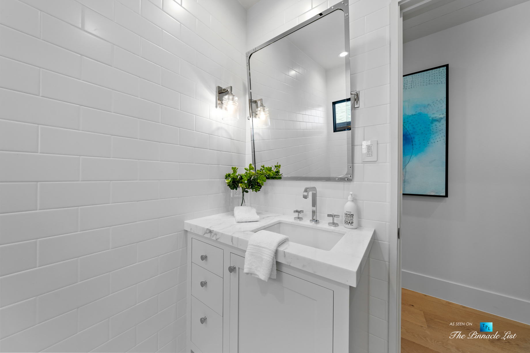 508 The Strand, Manhattan Beach, CA, USA - Lower Level Bathroom - Luxury Real Estate - Oceanfront Home