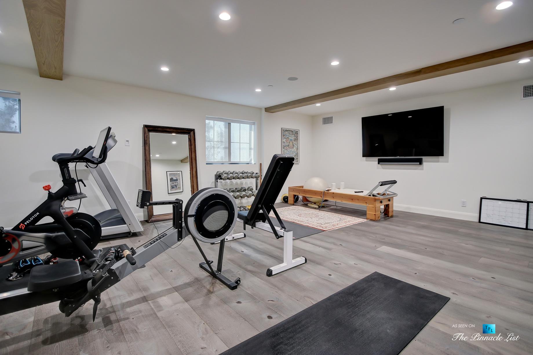 825 Highview Ave, Manhattan Beach, CA, USA – Private Gym – Luxury Real Estate – Modern Spanish Home