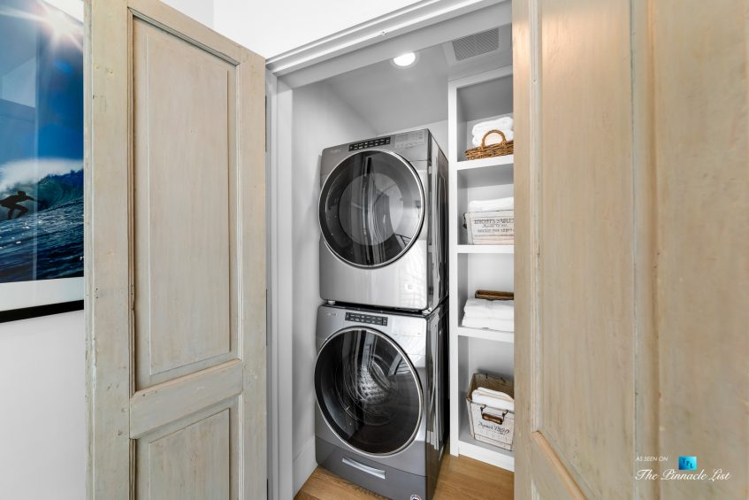 508 The Strand, Manhattan Beach, CA, USA - Upstairs Laundry - Luxury Real Estate - Oceanfront Home