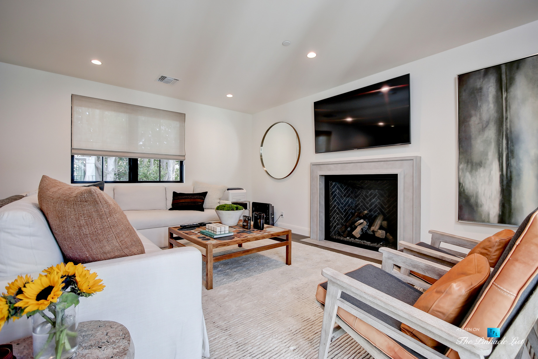 825 Highview Ave, Manhattan Beach, CA, USA - Private Den - Luxury Real Estate - Modern Spanish Home