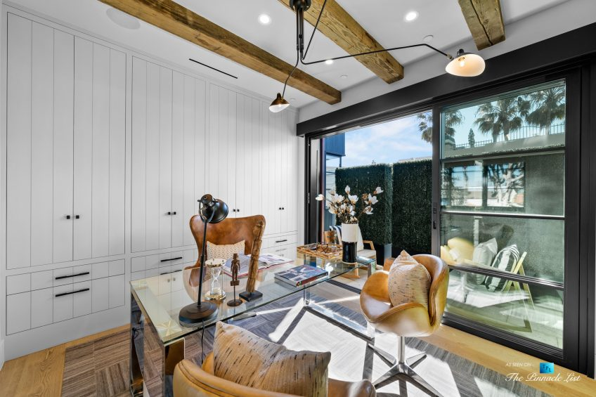 508 The Strand, Manhattan Beach, CA, USA - Spectacular Lower Level Office - Luxury Real Estate - Oceanfront Home