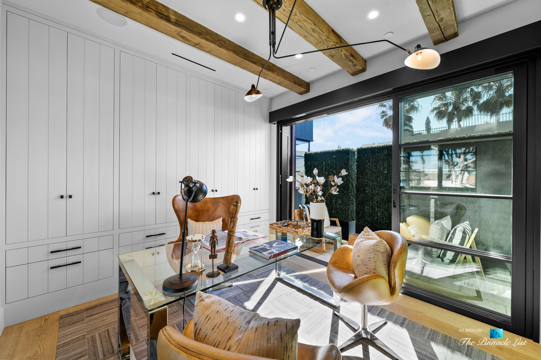 508 The Strand, Manhattan Beach, CA, USA – Spectacular Lower Level Office – Luxury Real Estate – Oceanfront Home