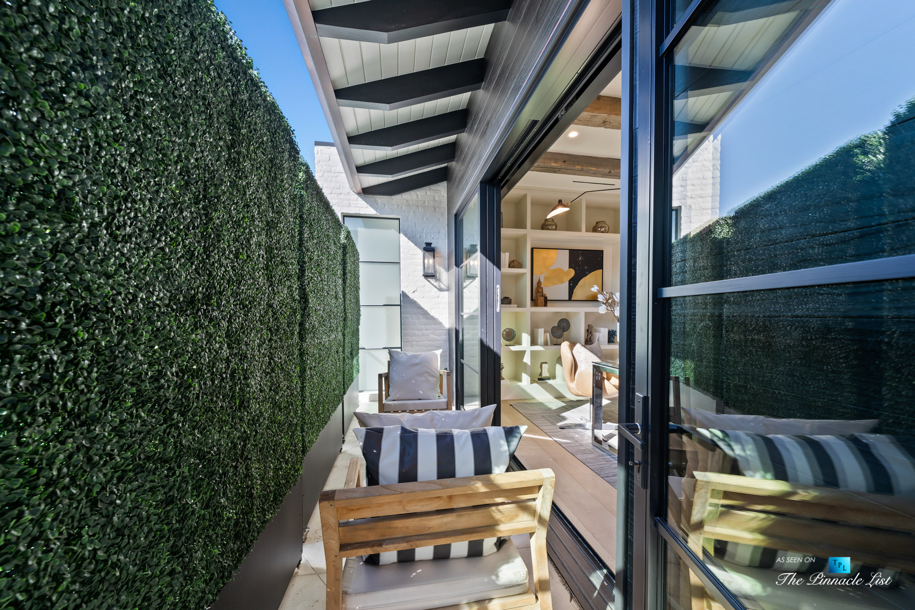 508 The Strand, Manhattan Beach, CA, USA - Spectacular Lower Level Office Patio - Luxury Real Estate - Oceanfront Home