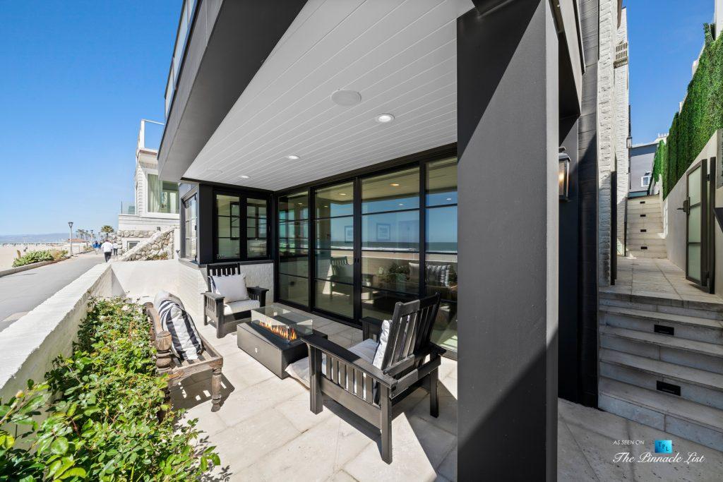 508 The Strand, Manhattan Beach, CA, USA - Sensational Lower Level Patio - Luxury Real Estate - Oceanfront Home