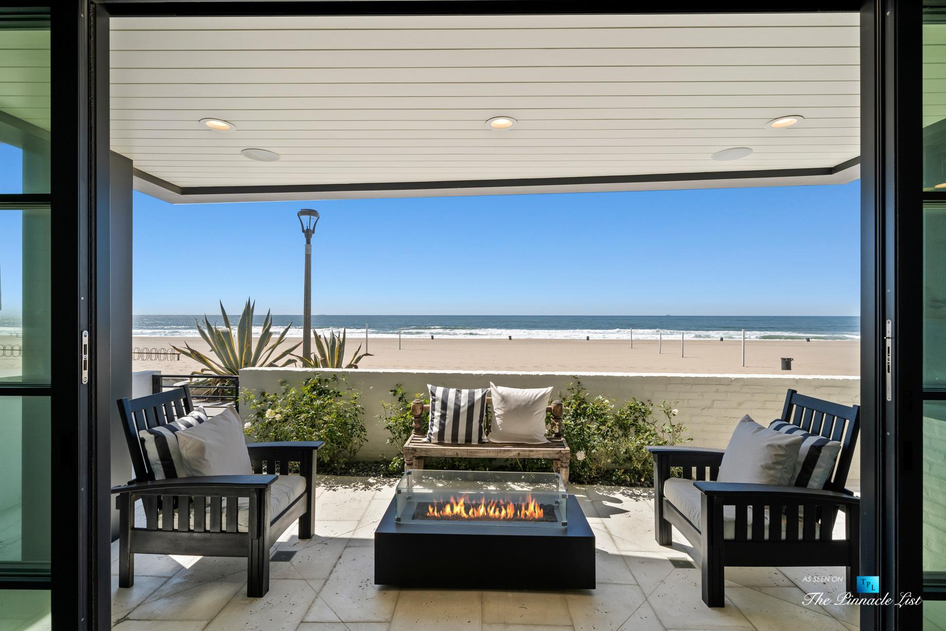 508 The Strand, Manhattan Beach, CA, USA – Sensational Lower Level Beachfront Patio – Luxury Real Estate – Oceanfront Home