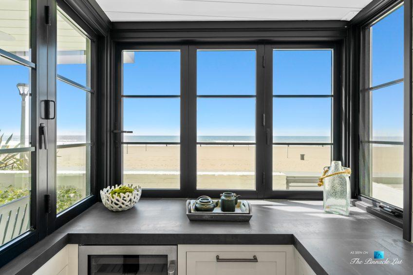 508 The Strand, Manhattan Beach, CA, USA - Lower Level Bar Beachfront View - Luxury Real Estate - Oceanfront Home