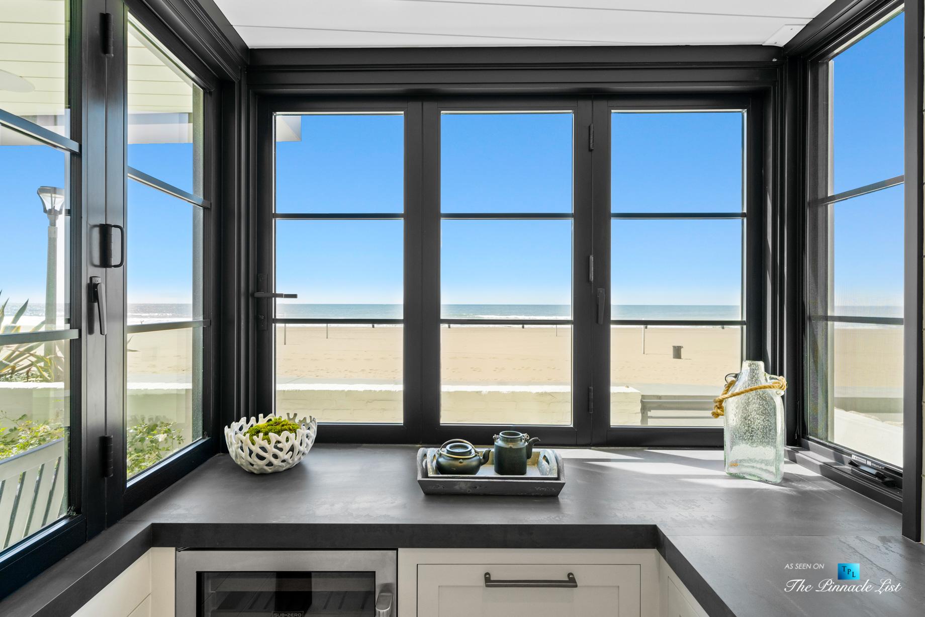 508 The Strand, Manhattan Beach, CA, USA – Lower Level Bar Beachfront View – Luxury Real Estate – Oceanfront Home